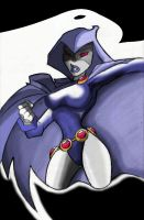 RAVEN COLORED by icemaxx1