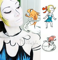 Dr. Seuss, Sally by MadeULookbylex