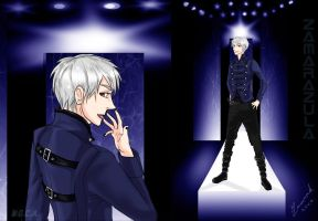 Fashion Design Prussia of Hetalia by Zamarazula