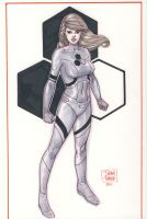 Invisible Woman by DylanTeague