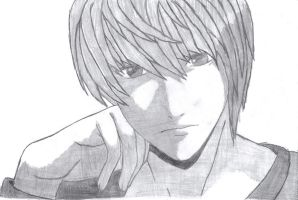Light Yagami by AeliaDarkness