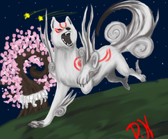 OKAMI by DemonNagareboshi