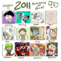 2011 Summary of Art by loneyqua