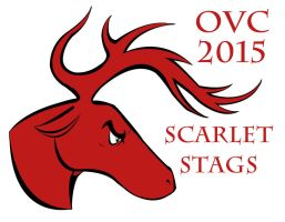 Scarlet Stags Mascot design 01 by TheSleeperAwakes