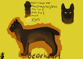 Bearheart (updated) by Bloodshadewolves