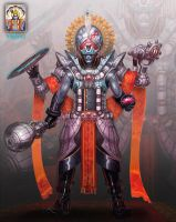 Roger Zelazny's Lord of Light: Vishnu by jubjubjedi