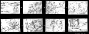 Attack of the Bear Storyboard by acarabet