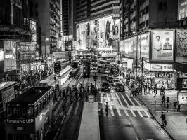 Hong Kong Crossing by amipal