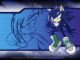 :: Wraith - Sonic Battle Wall by Chibi-Nuffie