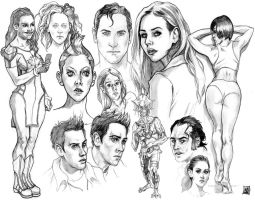 Sketch Compilation 4 by KennyGordon