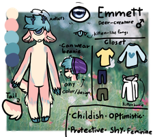 Emmett Reference by snowgraywhite