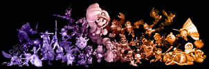 Super smash bros Brawl BKGR by Blucaracal