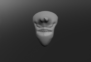 The Alien Head - 3D Character by bioxyde