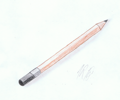 A Pencil by AnEmberMoon