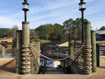 Wooden Dock Lanterns to the Dock by WDWParksGal-Stock