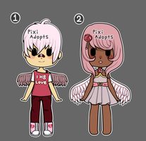 (Closed) Cupid Valentines adoptables by PixiAdopts