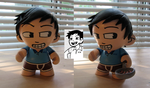 Wallace Wells Munny by sparr0