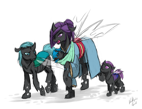 Citizen Weevil - Weevil and his family by MagicMan001