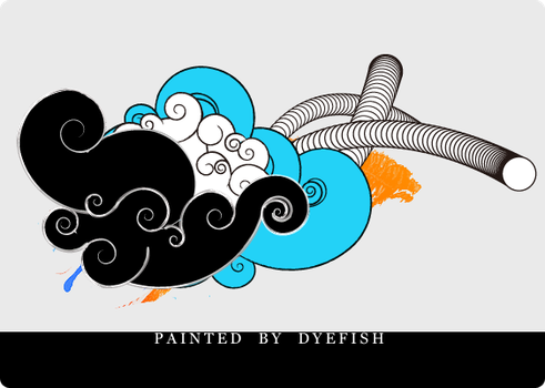 Chinese swirl2 png by dyefish