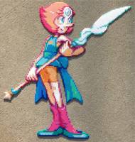 {Perler} Pearl is Amazing by OddishCrafts
