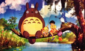 My Neighbour Totoro! by Lady-Ninetails