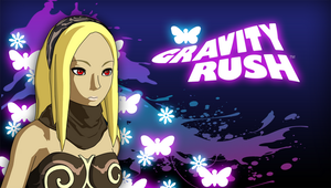 Gravity Rush purple PS Vita wallpaper by GYNGA