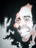Russell Brand caricature by Steveroberts