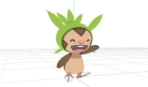 Pokemon XY [MMD] Chespin DL by animefancy-mmd