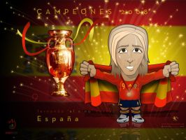 Espana campeones europeos 2008 by kitster29