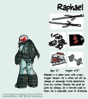 Secrets Of The Ooze: Raphael by mooncalfe
