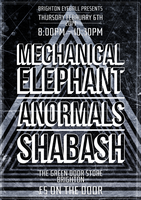 Mechanical Elephant February 2014 Poster by RicGrayDesign