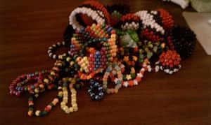 Kandi Pile by KawaiiConfections
