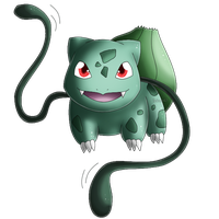 Pokedex 001: Bulbasaur- Vine Whip by izka197