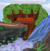 Cool Cartoon treehouse GIMP by TanithLipsky