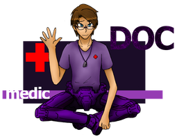 RvB:: Medical Officer Doc by CaptainTimber