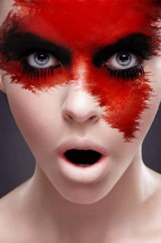 Red Makeup by Be-fore