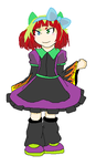 If they mated: LizzieXScrouge child ~ Jackie by Music-Lovette123