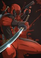 DEADPOOL BLOODPOOL by gidge1201