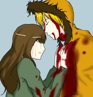 Karen and Kenny by AliceMartinLH