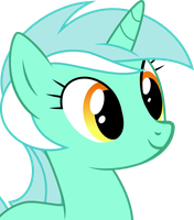 Lyra Face portrait by RyouXIII