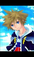 Kingdom Hearts II-Sora by Teh-O