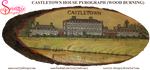 Catletown House Pyrograph Wood Burning by snazzie-designz