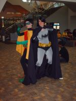 Otakon 2011 - Batman and Robin by Ace-the-FSMLC