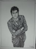 Doctor Who 10th by MarieTaylor
