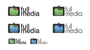 full media logotype by K0M0X