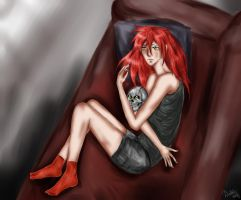 Grell and Lucy by DiabolicLily