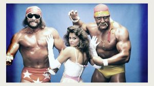 Macho Man, Miss Elizabeth and Hulk Hogan Photo by windows8osx