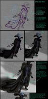 Megamind in winter clothing - Step By Step by eleathyra