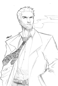 Constantine Sketch Commission by JoeMDavis