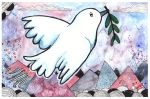 Dove Love by Paintwick